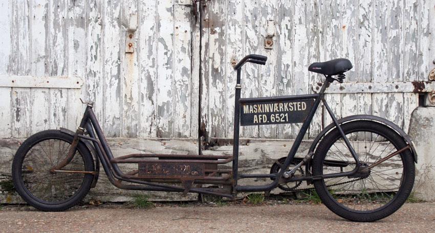 Vélo-cargo danois des années 60